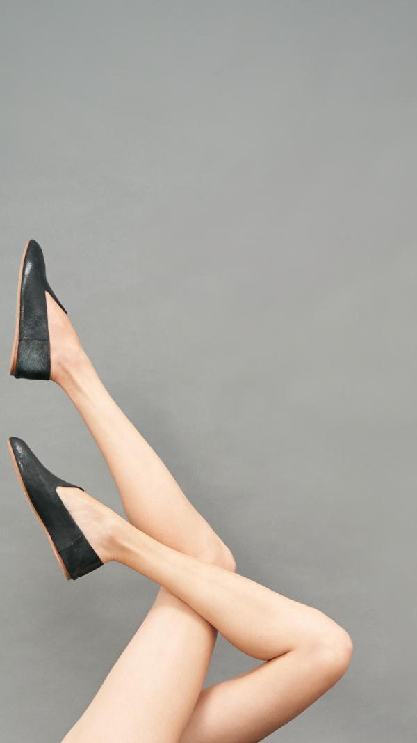 La Babouche Loafer Slip-On - Onyx