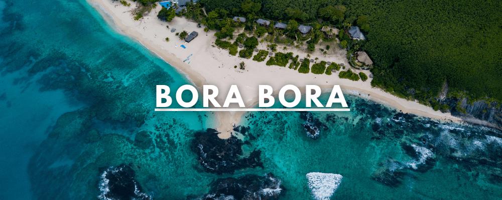 Bora Bora Island From Above