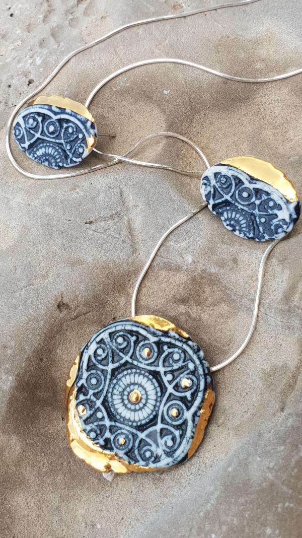 Royal Porcelain Jewelry Set