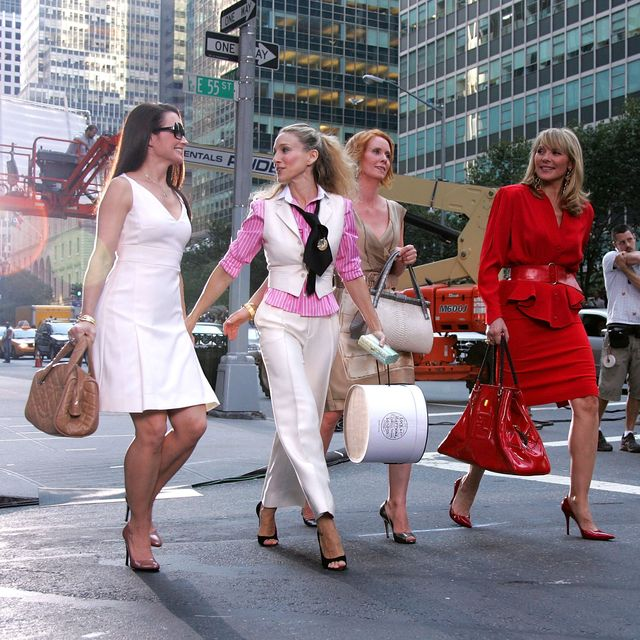 The Actresses From the Sex and the City Walk the Streets of New York