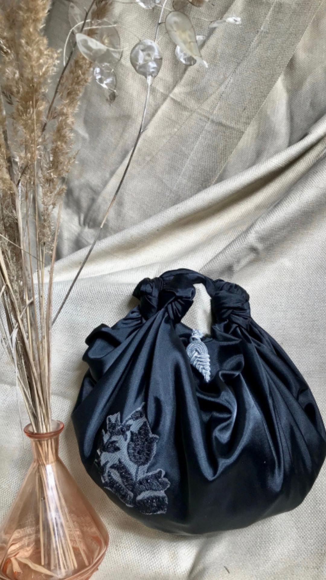 Raven Embellished Bag