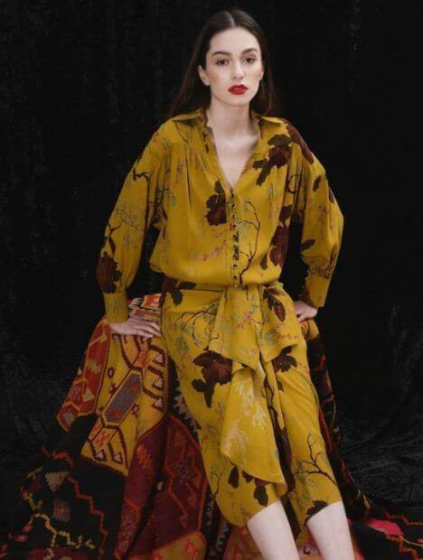 Aphrodite: Skirt Pure Silk