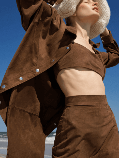 Kaira Leather Shirt