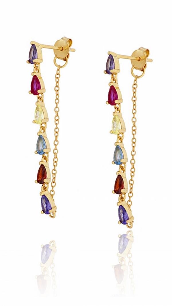 Amelie Gold Earrings