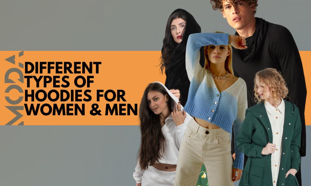 Beautiful Women and Men in Hoodies