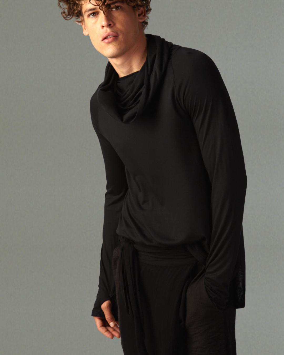 Echape Long Sleeve - Black