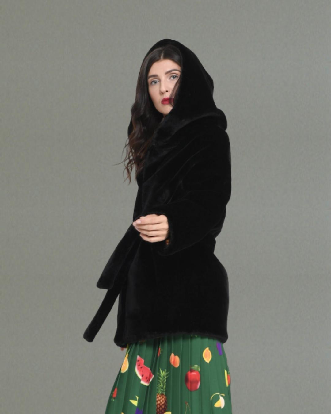 Fur Jacket Juicy Mix Tailor-Made